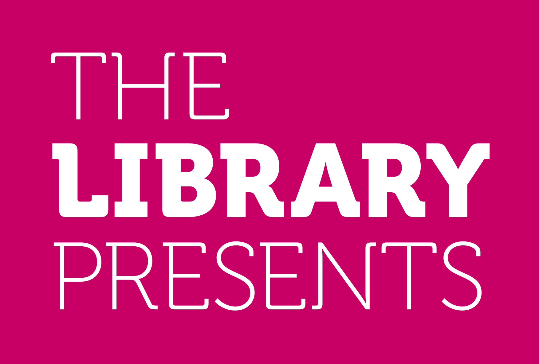 The Library Presents logo