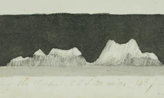 A recognition sketch from the Polar Museum