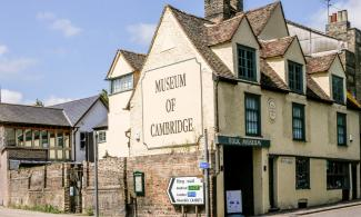 Exterior of Museum of Cambridge by Ann Miles