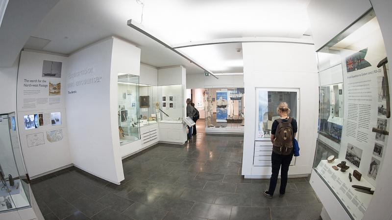 The Polar Museum galleries